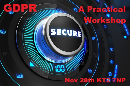 GDPR practical workshop – Nov 28th