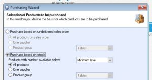 automatic purchase ordering